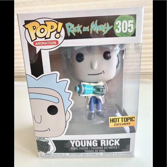 Funko POP Animation Rick & Morty #305 YOUNG RICK